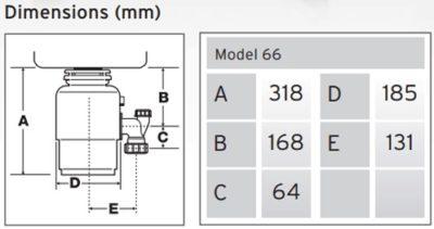 Technische tekening M66